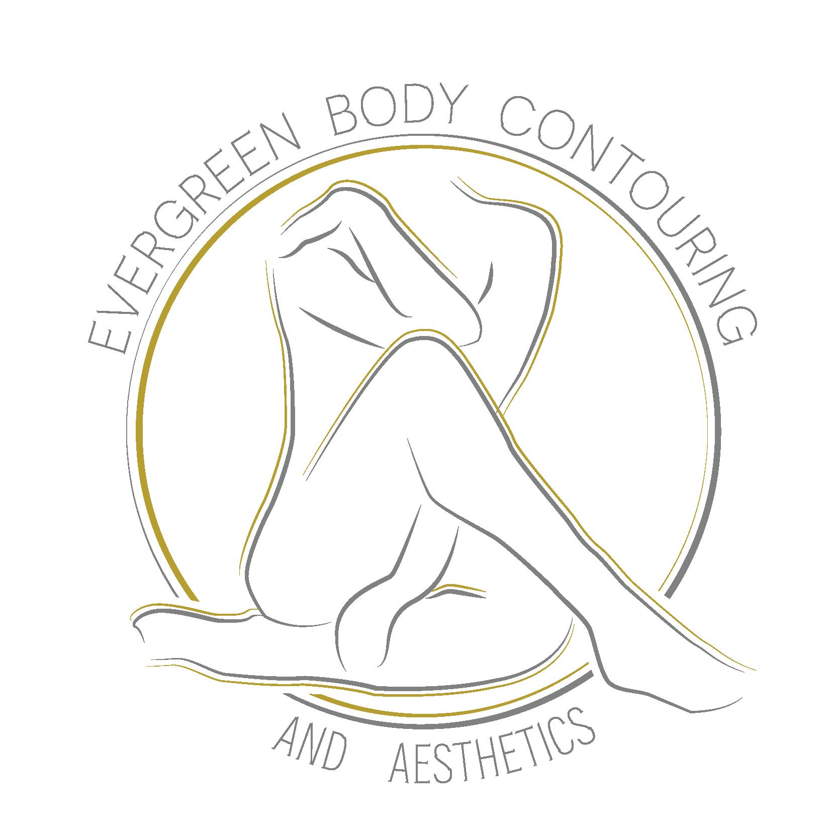 Evergreen Body Contouring and Aethetics Logo - Transparent Background